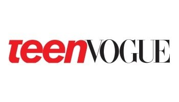 Image of the Teen Vogue logo